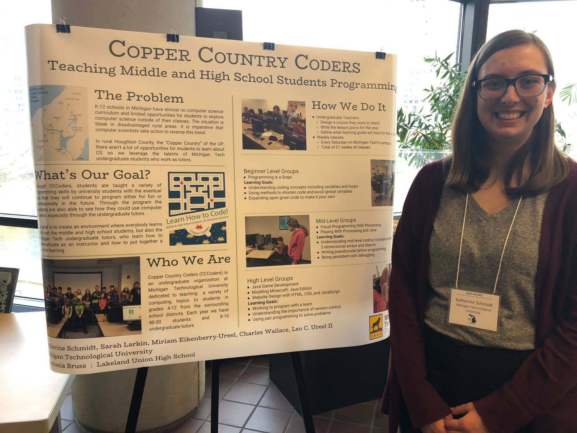 Katie Schmidt at MICWIC 2019